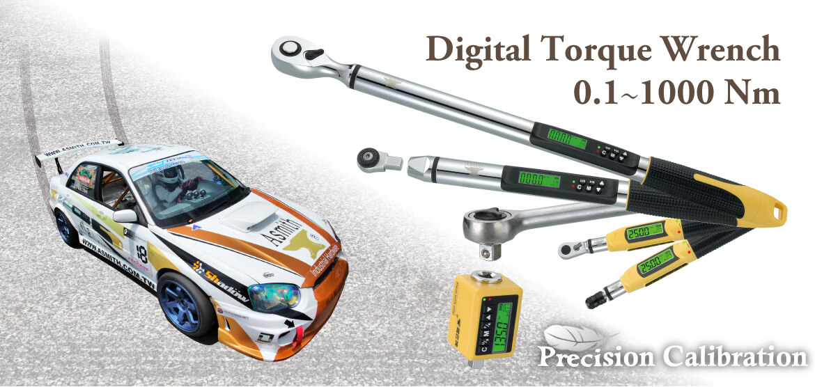 Digital Torque Wrenches (Electronic Torque Wrenches) 0.1~1000 Nm